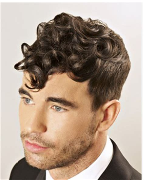 heavy male haircuts trendy men curly haircuts with heavy big curls bangs and