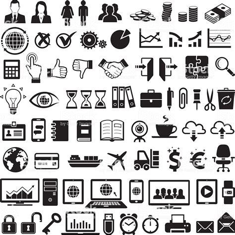 Business Icons Stock Vector 521312358 Istock Business Icons Stock Vector 524533800 Istock