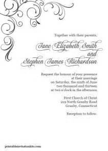 free border templates for invitations free pdf simply swirls border wedding