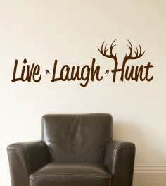 live laugh hunt wall decal hunting vinyl decal deer hunting vinyl decal wall sticker wall tattoo by tibi291 on