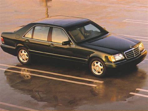1999 mercedes benz s class information