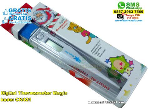 Termometer Magic digital thermometer magic souvenir pernikahan