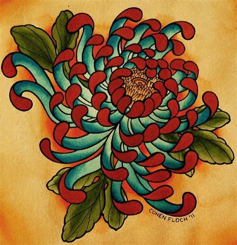 chrysanthemum tattoos pin by bucurenciu on paradise