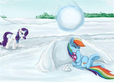 T 46 Blue Pony snowball by otakuap on deviantart