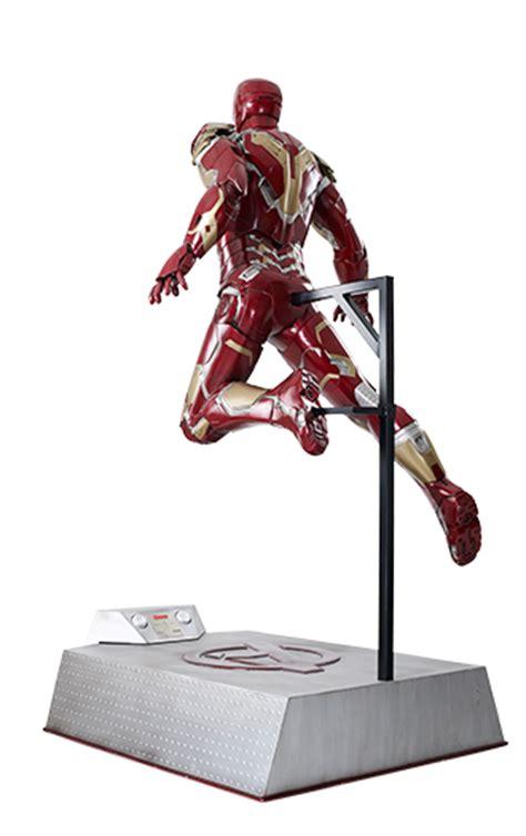 portfolio life size figures avengers iron man