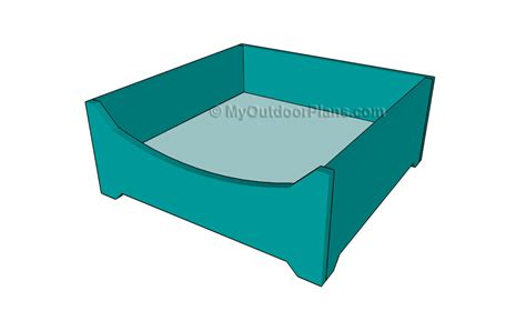 dog bed plans dog kennel plans myoutdoorplans free woodworking plans