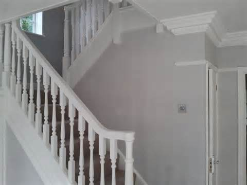 Decorating Hall Stairs And Landing by Painting And Decorating Pinner Middlesex Painter Decorator