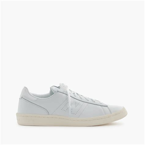 white sneakers for new balance 791 leather low top sneakers in white for
