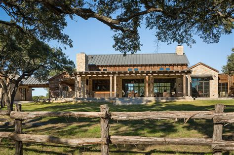 texas limestone ranch style homes rustic ranch style home llano ranch rustic exterior austin by cornerstone