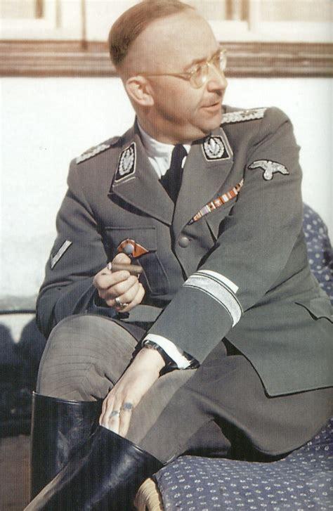 third reich haircut nazi jerman tentang heinrich himmler artikel dan foto