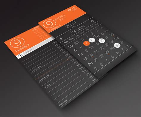 design calendar app 30 beautiful free calendar templates themecot