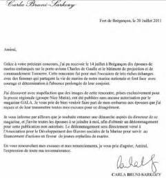 Lettre De Dédommagement Free Carla Bruni Sarkozy Demande Un D 233 Dommagement 224 Quot Gala Quot