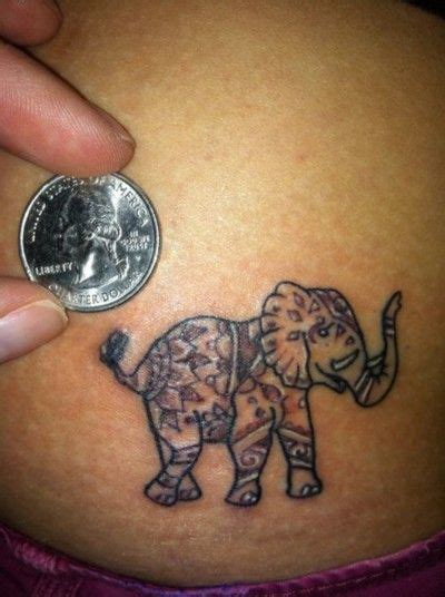 small thai tattoos elephant i like the size small bod mods