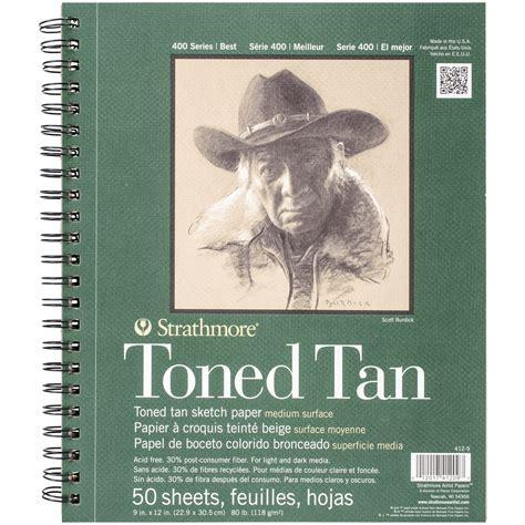 kmart sketchbook strathmore toned sketch spiral paper pad 9 quot x12 quot 50 sheets