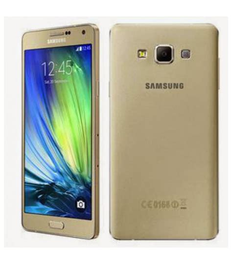 Samsung A300 Galaxy A3 16gb Gold samsung galaxy a300 a3 2015 gold 16gb