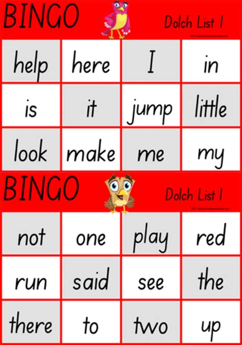 free printable dolch word games printable dolch sight word game abc teaching resources