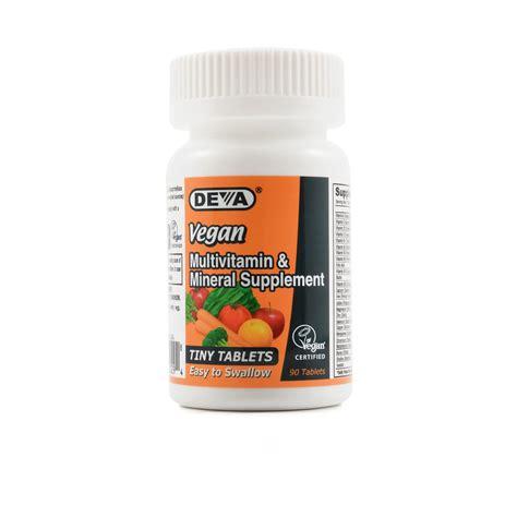Megazing Multivitamin Mineral deva vegan multivitamin review labdoor