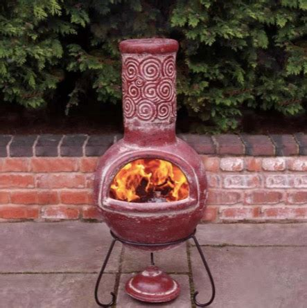 Putting A Flue On A Chiminea by Clay Chiminea Care For Backyard Design And Decor