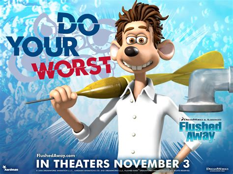 flushed awat flushed away free desktop wallpapers for hd widescreen