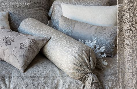 lace bedspreads and curtains metallic lace bedding curtains pillows bella notte allegra