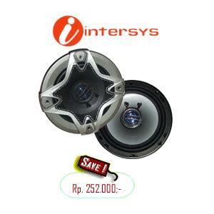 Speaker Intersys intersys is602 speaker coaxial mobil speaker oval mobil