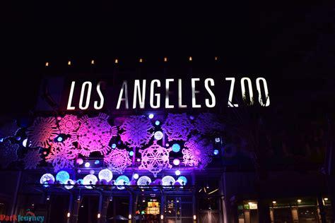 La Zoo Lights 2016 At The Los Angeles Zoo La Zoo Lights Hours