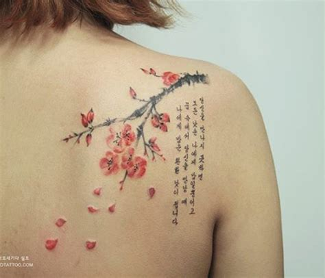 cherry blossom shoulder tattoo 40 beautiful cherry blossom tattoos nenuno creative