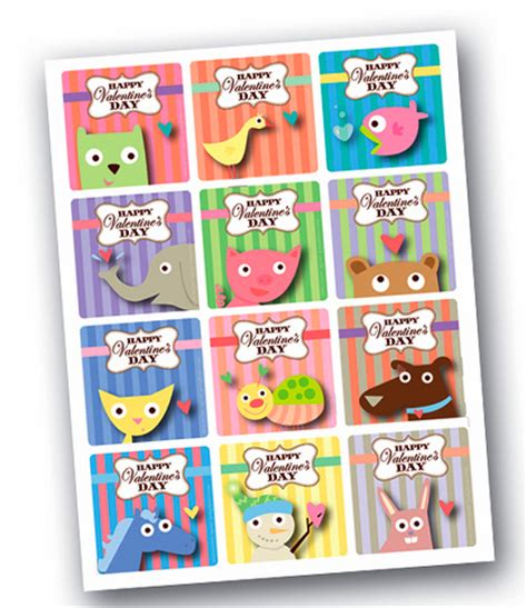 free printable animal valentines day cards best free valentine cards for kids more alpha mom