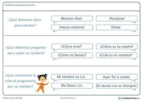 preguntas faciles sobre matematicas ejercicios de lengua para ni 241 os de primaria para imprimir