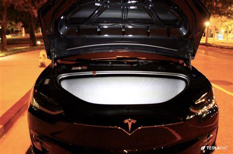 Tesla Model X Frunk Upgrading Tesla Model X Lighting With Ultra Bright Leds
