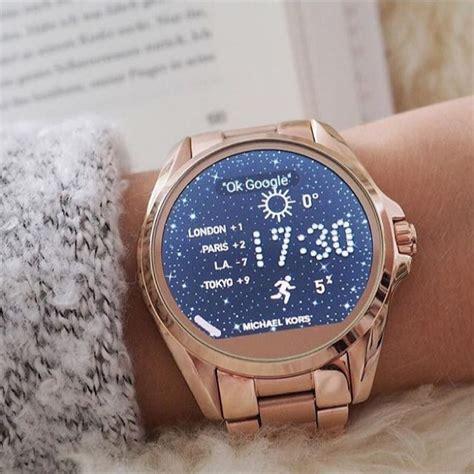 Rose Gold Appliances mk watch all access watch michael kors smart watch