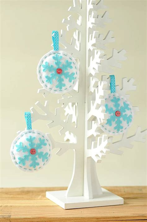 sew decorations make sew bauble decorations kit by