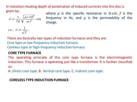 principle of induction 5 principle of induction heating