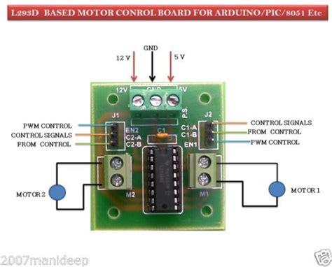 Diskon L293d Shield Motor Driver L293 Arduino 293 dc motor stepper motor driver board with l293d ic for