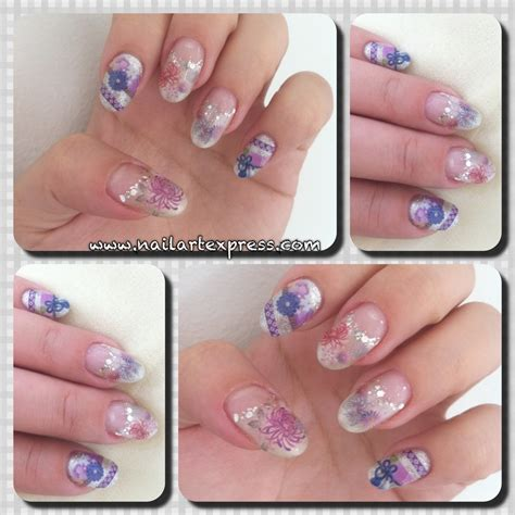 gelish nail designs new year japanese gel nail designs