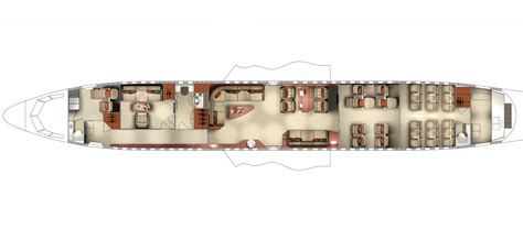 private jet floor plans photos first look inside boeing s bbj 3 private jet