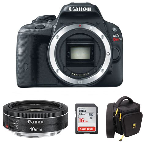 canon eos rebel sl1 dslr canon eos rebel sl1 dslr kit with ef 40mm f 2
