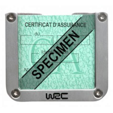 porte assurance voiture porte assurance carr 233 by wrc wrc accessoires int 233 rieur