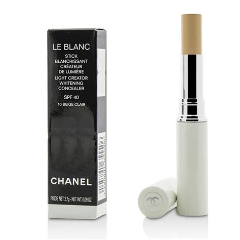 Whitening Spf 40 Pink le blanc light creator whitening concealer spf 40 10 beige clair chanel f c co usa