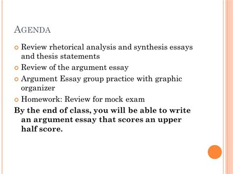 theme analysis essay thesis statement agenda review rhetorical analysis and synthesis essays and