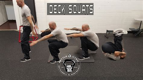 Deck Squats by Deck Squat Tutorial Kettle Jitsu Revolution