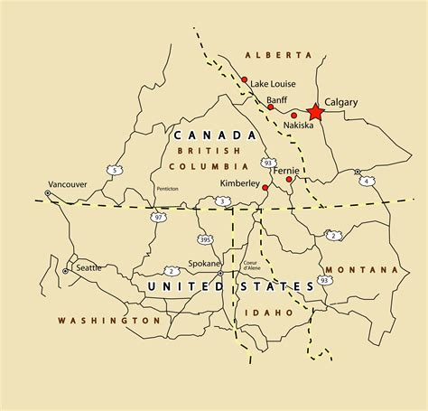 fernie canada map document moved