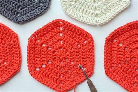 Hexagon Crochet Rug Pattern by Basic Crochet Hexagon Pattern Tips And Clear Photos