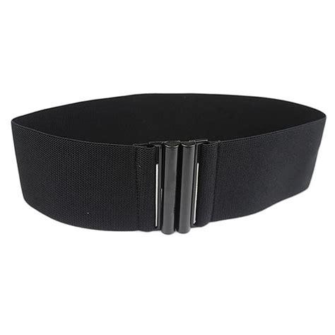 s fashion wide elastic stretch corset cinch