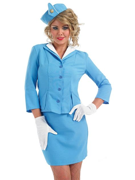 cabin crew air hostess trolley dolly fancy dress