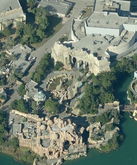 The Bird The Lost Continent aerial earth of temple of atlantis lost