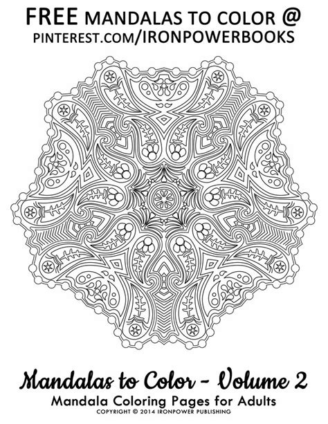 mandala coloring book for adults volume 2 67 best images about coloring pages on