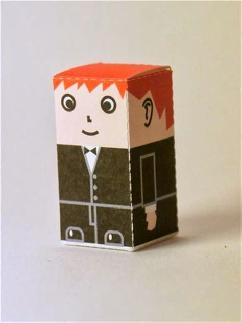 Kotak Tantos Kotak Permen kerajinan gunting tempel anak tk sd membuat sendiri kotak souvenir permen pria dengan jas