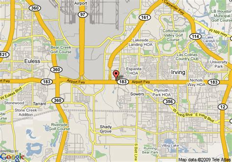 map of irving texas map of 8 motel irving dfw airport south irving