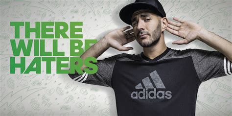 T Shirt Kaos Adidas There Will Be Haters 1003 Dear Aysha adidas unveils there will be haters football boot range